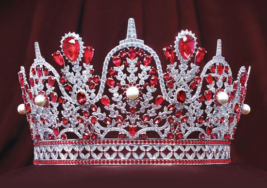 HWT Gold - Mahkota Puteri Indonesia - Mahkota Borobudur Merah
