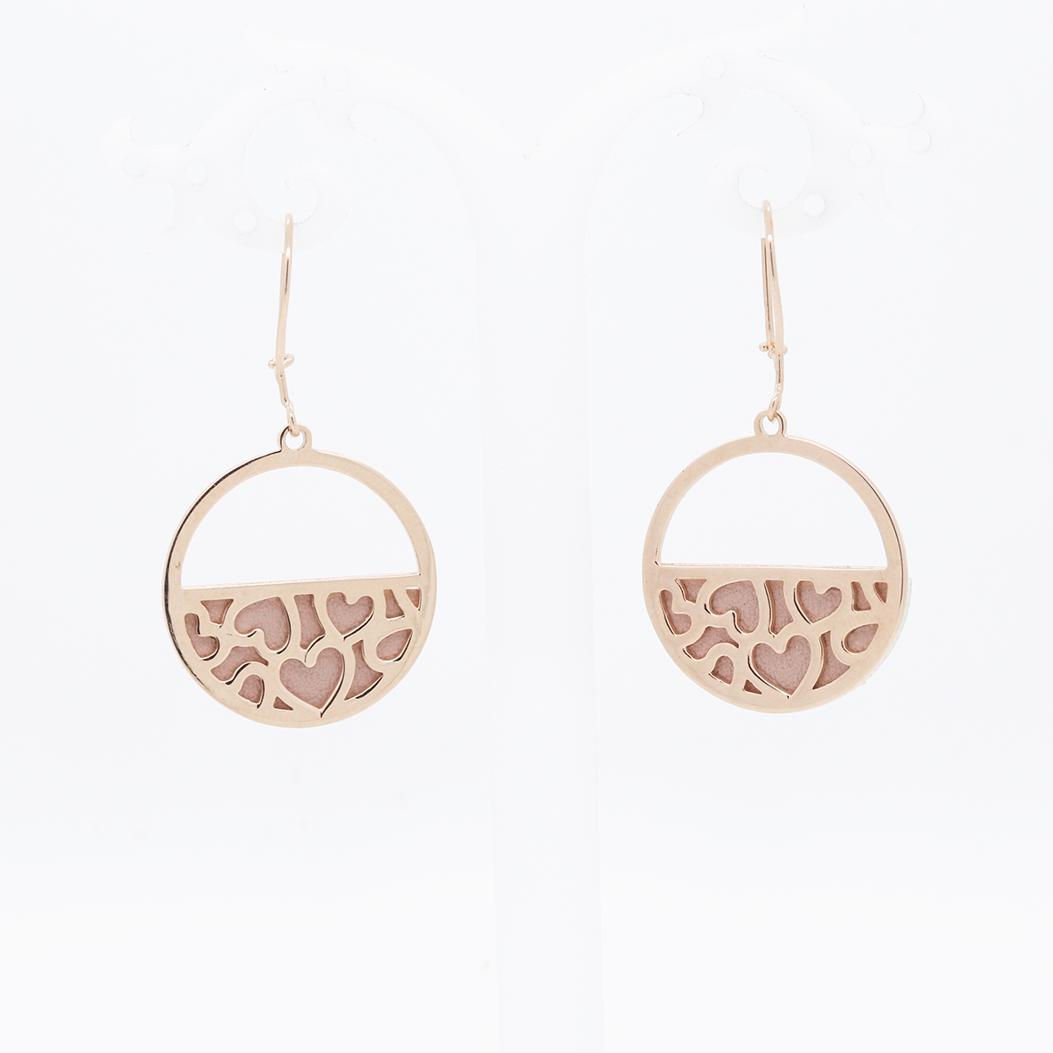Anting Emas HWT GOLD – Lea Valentine Edition – ALC004 – 750 – Rose Gold